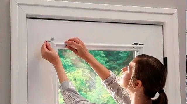Installation steps for raised frame doors